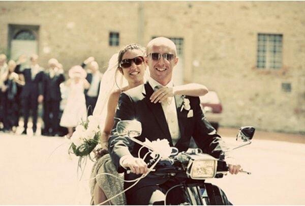 Ingeniosas maneras de llegar a tu matrimonio