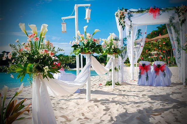 Los mejores destinos playeros para casarse