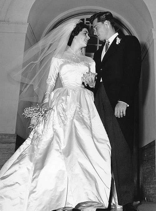 Algo de historia: los vestidos de novia mas famosos